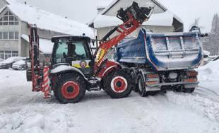 Hasiči pomáhajú v oblastiach postihnutých snehovou kalamitou 5.1.2019