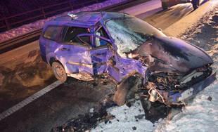 Tragická nehoda v Ružomberku 23.1.2019