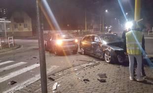 Dopravná nehoda na križovatke ulíc Hálkova a Veľká okružná v Žiline 16.2.2019