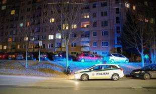 FOTO: Dvojnásobná vražda na sídlisku Hájik v Žiline