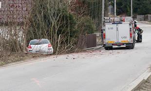 Dopravná nehoda v mestskej časti Žilina - Trnové 23.2.2019