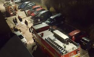 Požiar osobného auta na ulici Lichardova 4.3.2019