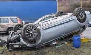 Dopravná nehoda na Košickej ulici 7.3.2019