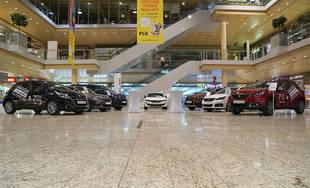 Autosalón Peugeot v Auparku Žilina