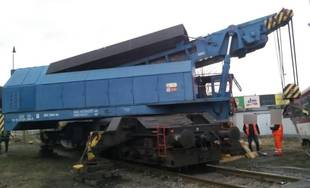 Zrážka osobného vlaku s nákladným autom v Čadci 15.3.2019