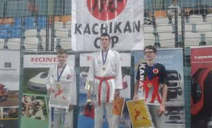 Karatisti AC UNIZA Žilina na Kachikan Cup 2019 v Nitre