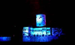 FOTO: Mesto Žilina aj Žilinský samosprávny kraj zasvietia na modro