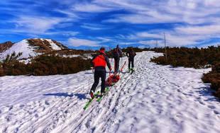 Zásah horských a leteckých záchranárov v Malej Fatre pri srdcovej nevoľnosti turistu