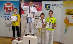 Úspechy mladých žilinských karatistov v apríli 2019