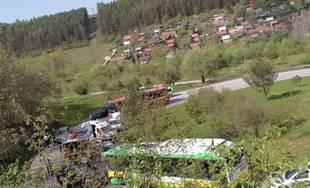Dopravná nehoda pod sídliskom Žilina - Hájik 25.4.2019