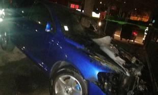 Požiar osobného auta na sídlisku Hliny 27.4.2019
