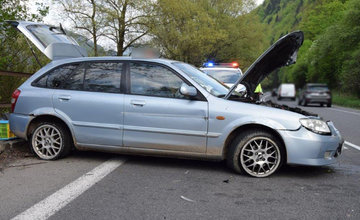 Mladý vodič z Poľska unikal z miesta dopravnej nehody na Orave