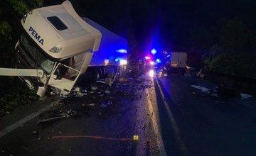Dopravná nehoda na ceste I/18 v katastri obce Strečno 15.mája 2019