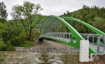 Slávnostné otvorenie lávky medzi mestskými časťami Vranie a Brodno