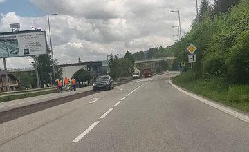 Rekonštrukcia cesty 1. triedy v katastri obce Dolný Hričov