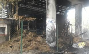 Počas noci zhorela sála S2 na Stanici Žilina-Záriečie, Rondel je spustený v polovičnom profile