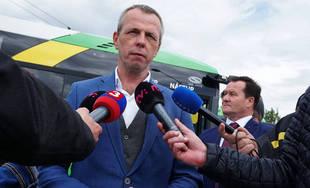 FOTO: Minister dopravy zavítal do Žiliny pri príležitosti ukončenia obnovy trolejbusov