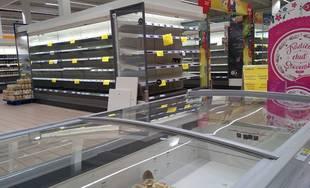 V hypermarkete Tesco Žilina je mrazený a chladený sortiment z dôvodu poruchy dočasne nedostupný