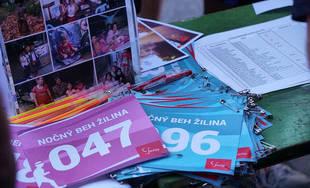 Nočný beh na Vodnom diele Žilina - 4. ročník 6.6.2019