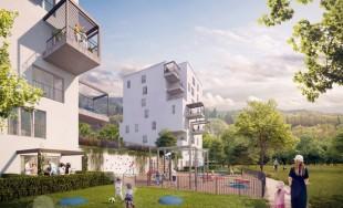 Vizualizácie novej mestskej štvrte Kamence v Kysuckom Novom meste