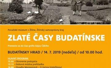 Pozvánka na Zlaté časy Budatínske 2019