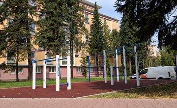 Workout ihrisko Hliny Žilina areál internátov UNIZA