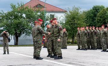 FOTO: Výmena veliteľa 5. pluku špeciálneho určenia v Žiline
