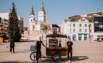 Prvá pojazdná kaviareň v Žiline KAFFKA