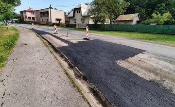 Oprava cesty III. triedy v časti Žilina - Rosinky 30.7.2019