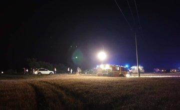 FOTO: V okrese Dolný Kubín došlo k zrážke troch áut, cesta je neprejazdná