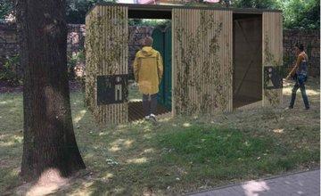 Toalety v parku Ľudovíta Štúra v Žiline - vizualizácie a umiestnenie