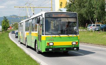 Staré žilinské trolejbusy typu 14Tr a 15Tr