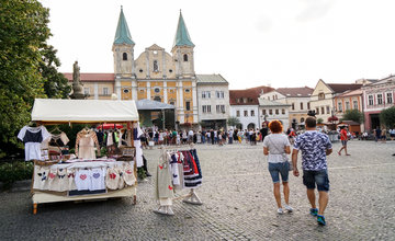 FOTO: Na Mariánskom námestí v Žiline prebiehajú Žilinské Dožinky 2019