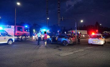 Dopravná nehoda Košická ulica 23.8.2019