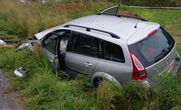 FOTO: V nedeľu došlo na Orave k zrážke dvoch áut, pri nehode vyhasli štyri mladé životy