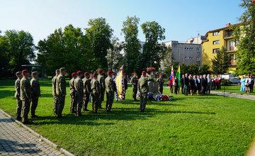 FOTO: Spomienková slávnosť v Sade SNP Žilina aj za účasti 99-ročného partizána