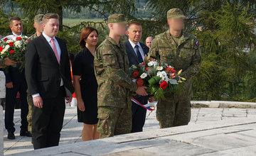 FOTO: Pri pamätníku v Strečne si uctili francúzskych partizánov