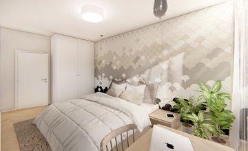 Rezidenčný projekt RETRO - vizualizácie interiéru