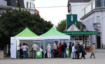 FOTO: Na Námestí Andreja Hlinku prebieha Žilinský deň zdravia 2019