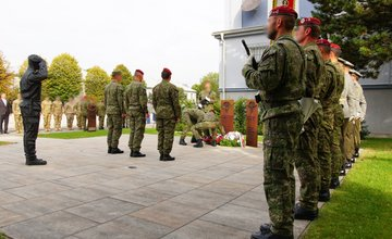 FOTO: Slávnostný akt prepodriadenia útvarov do pôsobnosti veliteľstva Síl pre špeciálne operácie