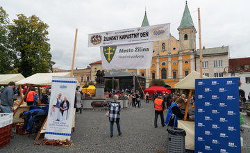 FOTO: Žilinský kapustný deň 2019 na Mariánskom námestí v Žiline