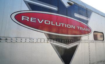 Interaktívny protidrogový vlak Revolution Train v Žiline 2019