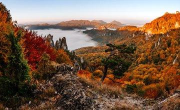 FOTO: Nádherné jesenné pohľady zo Súľova