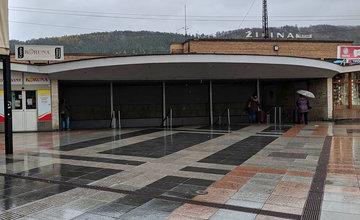 Železničný podchod na ulici Hviezdoslavova v Žiline