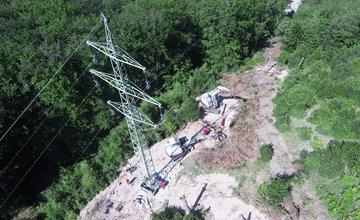 Rekonštrukcia elektrických vedení v Strečnianskej úžine