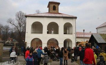 Vianoce v areáli Budatínskeho hradu