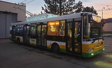 Vianočný trolejbus vyrazí na cesty v Žiline aj v roku 2019