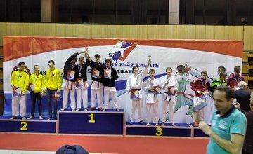 Žilinčania na majstrovstvách SR v karate