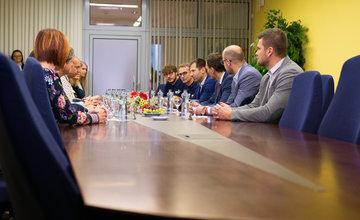 Podpis Memoranda medzi Žilinským samosprávnym krajom a Slovenským zväzom ľadového hokeja - 8.1.2020