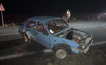 FOTO: Pri obci Krasňany došlo k dopravnej nehode, cesta je prejazdná s obmedzením